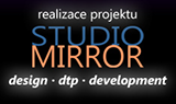 Realizace projektu Studio Mirror - Design, DTP, Development